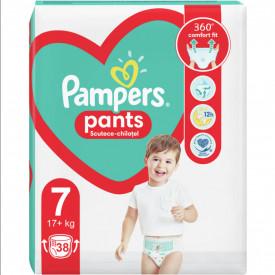 Scutece-chilotel Pampers Pants Jumbo Pack, Marimea 7, 17+ kg, 38 buc