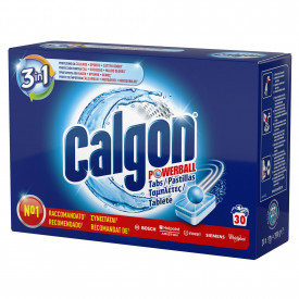 Tablete anticalcar 3in1 Calgon Powerball 30 bucati