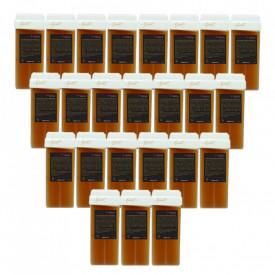 Cartus ceara pentru epilat cu Miere, Roial Gold, 100 ml - 24buc