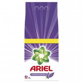 Detergent automat pudra Ariel Lavanda, 80 spalari, 8kg