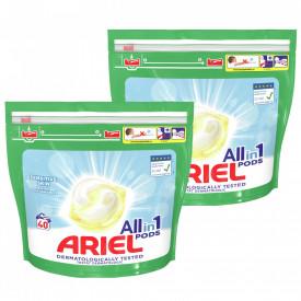 Detergent capsule Ariel All in One PODS Sensitive, 80 spalari (2x40)