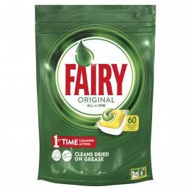 Detergent de vase capsule Fairy All in One, 60 buc