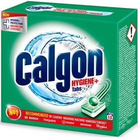 Tablete anticalcar 3in1 CALGON Hygiene+, 15 bucati
