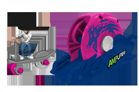 Amplifiers, trotineta si lansator- Dom