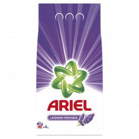 Detergent automat pudra Ariel Lavanda, 40 spalari, 4kg
