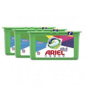 Detergent capsule Ariel 3in1 Pods Colour & Style, 117 spalari