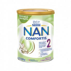 Lapte praf Nestle NAN Comfortis 2, de la 6 luni, 800g