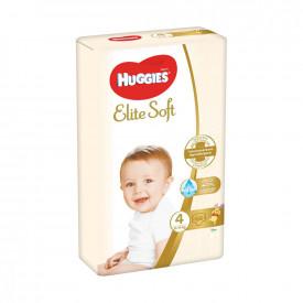 Scutece Huggies Elite Soft Nr.4, 8-14 kg, 66 buc