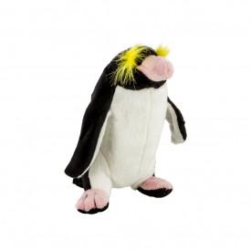 Pluș pinguin săritor, 20 cm