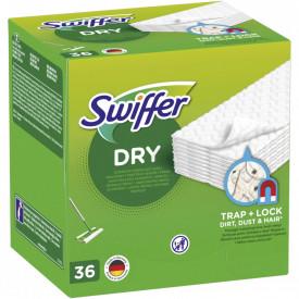 Rezerve lavete uscate pentru pardoseala Swiffer Sweeper, 36 buc