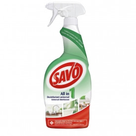 Spray dezinfectant All in 1 Universal Savo, 650 ml