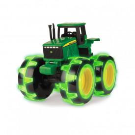 Tractor cu roti luminate