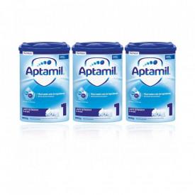 Aptamil 1 formulă de lapte Premium, +0 luni, 3 x 800g, Nutricia
