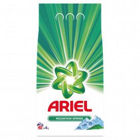 Detergent automat pudra Ariel Mountain Spring, 40 spalari, 4kg