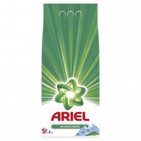 Detergent automat pudra Ariel Mountain Spring, 80 spalari, 8kg