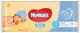 Servetele umede Huggies Pure, 56buc
