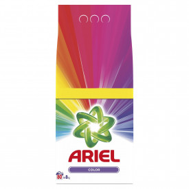 Detergent automat pudra Ariel Color,80 spalari, 8kg