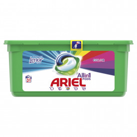 Detergent capsule Ariel All in One PODS Touch of Lenor, 39 spalari
