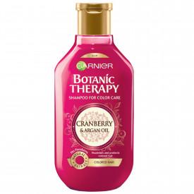 Sampon Garnier Botanic Therapy Cranberry & Argan Oil pentru par vopsit, 400 ml