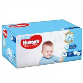 Scutece Huggies Ultra Comfort Nr.4, Baietei, 8-14 kg, 100 buc