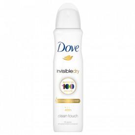 Deodorant spray Dove Invisible Dry, 150 ml