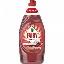 Detergent de vase Fairy Extra+ Fructe de padure rosii 900 ml