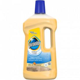 Detergent pentru parchet Pronto Extra Care cu ulei de migdale, 750ml