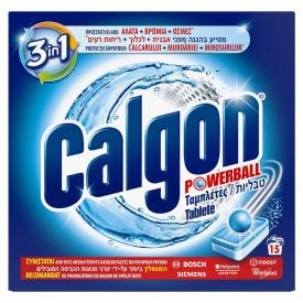 Tablete anticalcar 3in1 Calgon Powerball 15 bucati