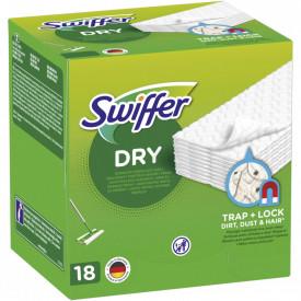 Rezerve lavete uscate pentru pardoseala Swiffer Sweeper, 18 buc