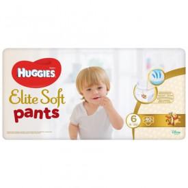 Scutece chilotel Huggies Elite Soft Pants Giga pack Nr.6, 16-22 kg, 38 buc