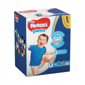 Scutece-chilotel Pants Huggies Box Nr.6, Baietei, 15-25 kg, 60 buc