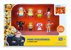 Set 8 figurine Despicable Me 3