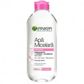 Apa micelara Garnier Skin Naturals pentru ten sensibil, 400 ml