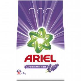 Detergent automat pudra Ariel Lavanda, 20 spalari, 2kg
