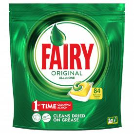 Detergent de vase capsule Fairy All in One, 84 buc