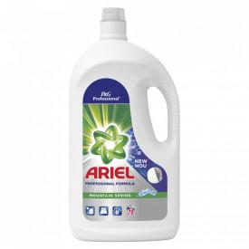 Detergent lichid Ariel Professional Mountain Spring, 70 spalari, 3.85L