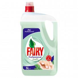 Detergent vase Fairy Professional Sensitive, 5L