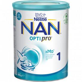 Lapte praf Nestle NAN 1 Optipro, 0-6 luni, 800g