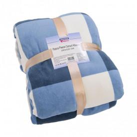 Patura Fleece Carouri Albastre 200x220 c