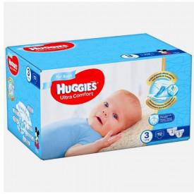 Scutece Huggies Ultra Comfort Nr.3, Baietei, 5-9 kg, 112 buc