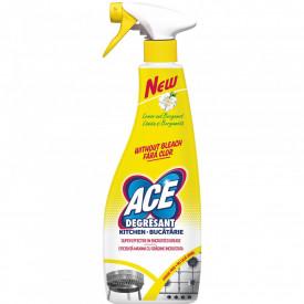 Solutie pentru curatare bucatarie Ace, 750 ml