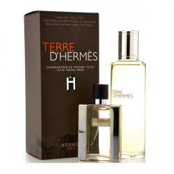 TERRE D'HERMES 125 ML REFILL + 30 ML VAPO 125ml