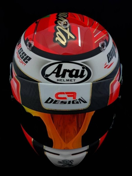 Visor Panel Helmet F1 immagini