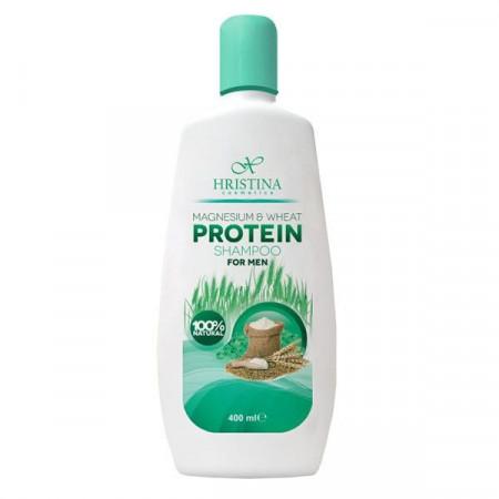 Șampon cu magneziu și proteină de grâu