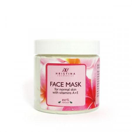 Mască de față cu Vitamina A&E - Ten Normal