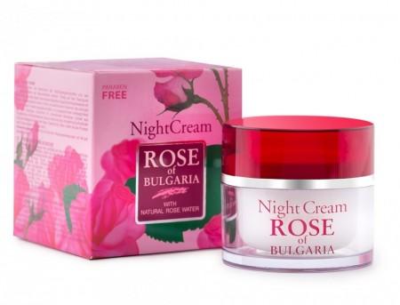 Cremă de noapte - Rose of Bulgaria