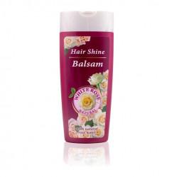 Balsam Păr Strălucitor Natural White Rose