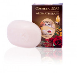 Cosmetic Soap Aromatherapy - Argan & Rose Oil