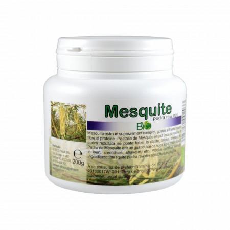Mesquite pudra, RAW BIO 200g