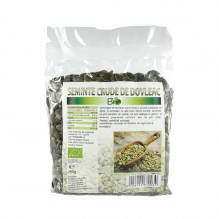 Seminte de dovleac, RAW BIO 250g